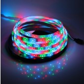 Waterproof 3528 RGB LED Strip Light 5M 300 LEDs 12V