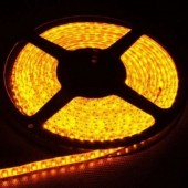 Waterproof 3528 Yellow Flexible Strip Light 5M 600LEDs 12V LED