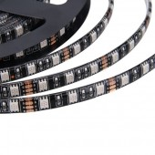 Waterproof 5050 RGB Black PCB 5M 300LEDs LED Strip Flexible Light