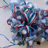 Waterproof 5V Rectangular LED LPD6803 Pixel RGB Module Light 50 Nodes