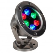 Waterproof IP68 AC/DC 12V 24V 6W LED Underwater Light Lamp