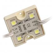 Waterproof LED Module Light SMD 5050 DC 12V 4 LEDs 40pcs