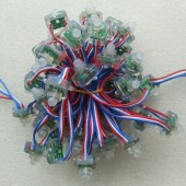 WS2811 5V Rectanglar 50 Nodes LED Waterproof Pixel RGB Light
